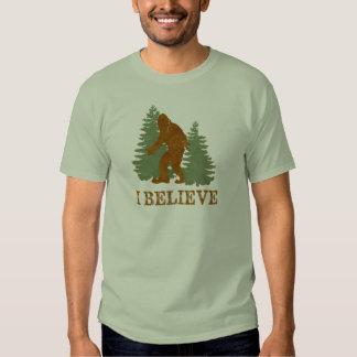 Bigfoot (Sasquatch) I Believe Tee Shirt