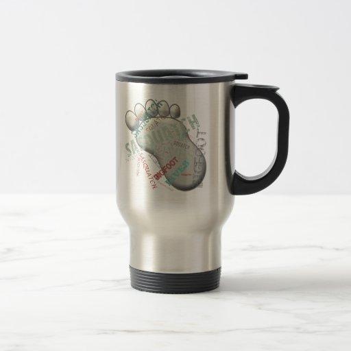 Bigfoot Sasquatch Lives Stainless Steel Travel Mug