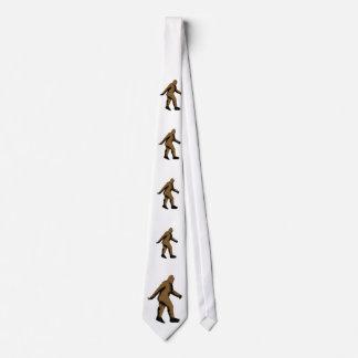 Bigfoot  Sasquatch Neck Tie