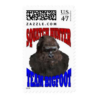 Bigfoot sasquatch postage stamp