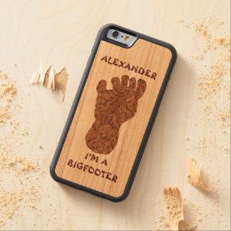 Bigfoot Sasquatch Yeti Cryptid Creature Hunter Cherry iPhone 6 Bumper