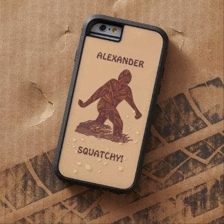 Bigfoot Sasquatch Yeti Cryptid Creature Hunter iPhone 6 Case