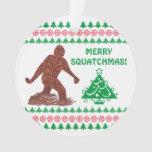 Bigfoot Sasquatch Yeti Cryptid Funny Christmas