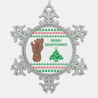 Bigfoot Sasquatch Yeti Cryptid Funny Christmas Ornament