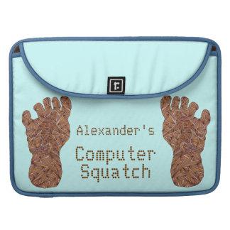 Bigfoot Sasquatch Yeti Personalized Macbook Pro Sleeves For MacBooks