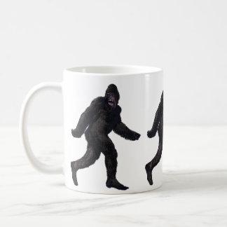 Bigfoot Sasquatch Yetti Classic White Coffee Mug