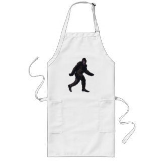 Bigfoot Sasquatch Yetti Long Apron