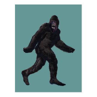 Bigfoot Sasquatch Yetti Postcard