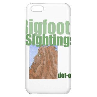 Bigfoot Sightings Logo iPhone 5C Covers