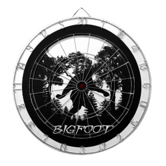 Bigfoot Silhouette Dart Board