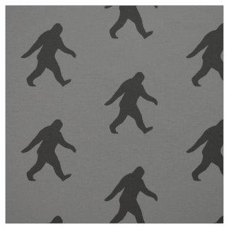 Bigfoot Silhouettes Pattern Fabric