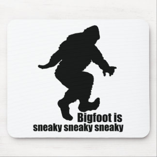 Bigfoot sneaky sneaky mouse pad