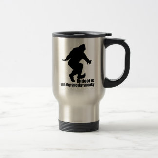 Bigfoot sneaky sneaky coffee mug