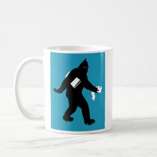 Bigfoot sorprendió taza