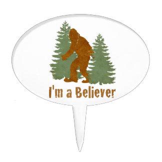 Bigfoot - soy un creyente decoraciones para tartas