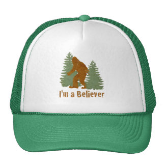 Bigfoot - soy un creyente gorras de camionero