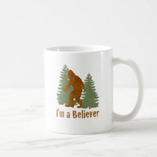 Bigfoot - soy un creyente taza