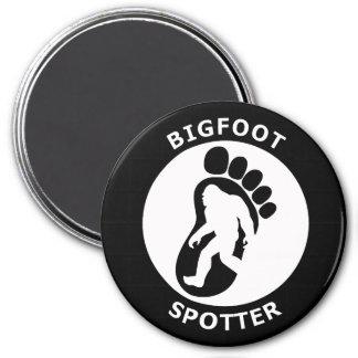 Bigfoot Spotter 3 Inch Round Magnet