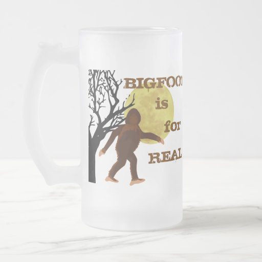Bigfoot Squatch is For Real Moonlight Mug