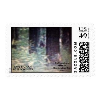 Bigfoot stamp