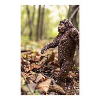 Bigfoot Stationary   Sasquatch Crafts Stationery