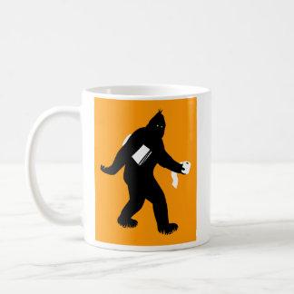 Bigfoot Surprised Coffee Mug