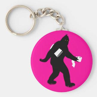 Bigfoot Surprised Keychain