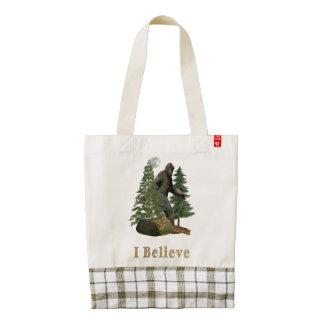 Bigfoot t-shirts zazzle HEART tote bag