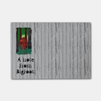 Bigfoot Post-it® Notes