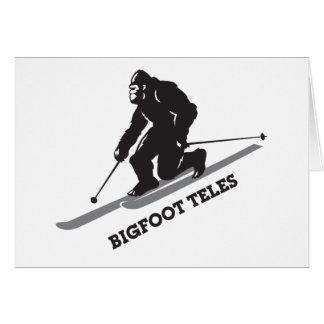 Bigfoot Teles Card