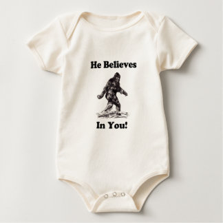 Bigfoot the Squatch Baby Bodysuit