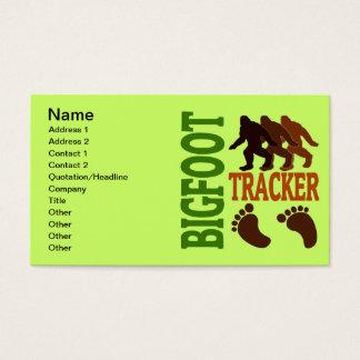 Bigfoot Tracker Business Card