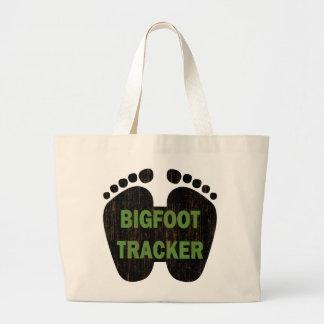 Bigfoot Tracker Large Tote Bag
