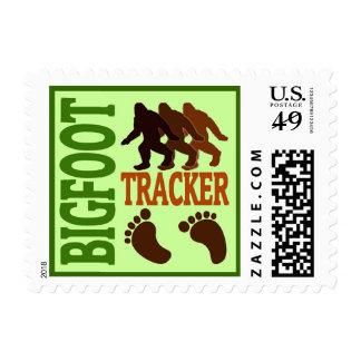 Bigfoot Tracker Postage Stamps