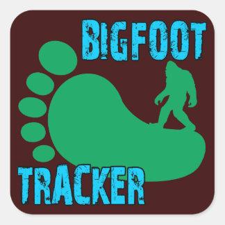 Bigfoot Tracker Square Sticker
