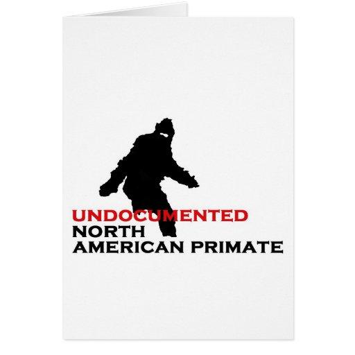 BIGFOOT: Undocumented North American Primate Card