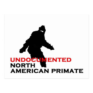 BIGFOOT: UNDOCUMENTED NORTH AMERICAN PRIMATE POSTCARD