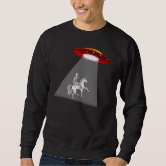 Bigfoot Unicorn UFO Abduction Sweatshirt