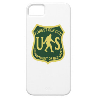 Bigfoot US Forest Service iPhone 5 Case