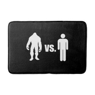 Bigfoot VS Human Bathroom Mat
