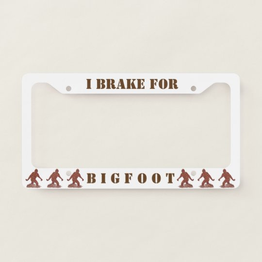 Create Your Own License Plate Frame Zazzle Com