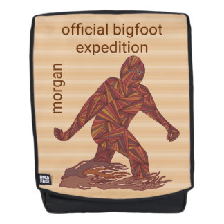 Bigfoot Walking Sasquatch Official Expedition Backpack