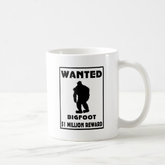 Bigfoot Wanted Poster Coffee Mug