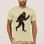 Bigfoot Yetti Sasquatch Playera