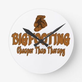 Bigfooting más barato que terapia relojes
