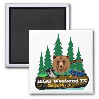 BiGG Weekend IX Magnet