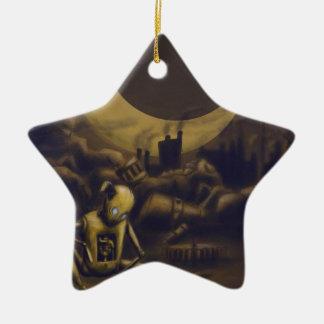Bigger! Better! Industrialize! Ceramic Ornament
