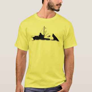 Bigger Boat Black T-Shirt