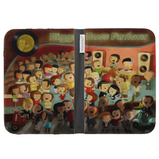 Bigger Boss Reggae Party Kindle Cover