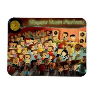 Bigger Boss Reggae Party Magnet